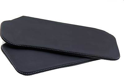 $33.99 • Buy Sunvisor Leather Synthetic Covers For Camaro Firebird 93-02 Gray Stitch