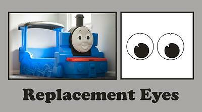 £2.50 • Buy Little Tikes Thomas The Tank Engine Bed Replacement  Eye Stickers