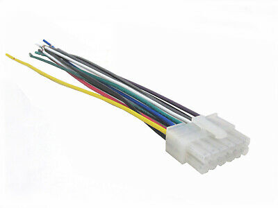 wiring harness fits clarion car stereo with 12 pin connector wh-c12 • 3 89$