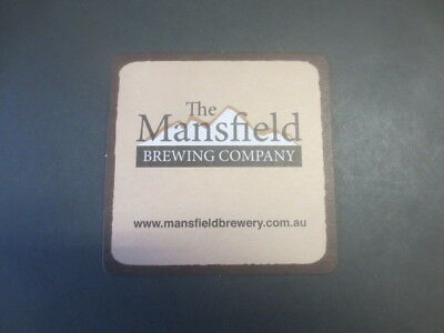 £1.08 • Buy 1 Only MANSFIELD Micro  Brewery,2015 Issue, Victoria. Collectable COASTER