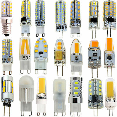 AU2.90 • Buy Dimmable G4 G9 E14 COB SMD LED Silicone Crystal Lamp 2835 Light Bulb 3W 5W 7W 9W