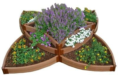 Raised Garden Bed Kit 8 Ft. X 8 Ft. X 16.5 In. Classic Sienna Composite Board • 275.36£
