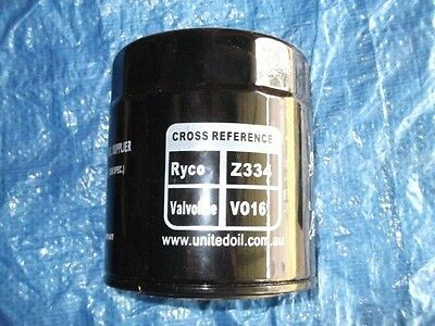 AU25.95 • Buy Oil Filter Z334 (FREE POSTAGE) Suits Toyota Landcruiser 1HZ Engines