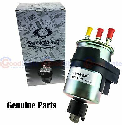 AU128.15 • Buy Genuine SSANGYONG Stavic Turbo Diesel 2.7L 2007-2012 Fuel Filter