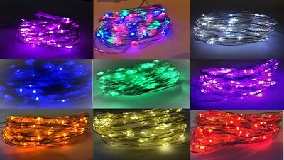 30/60 LED AA Battery String Lights - FLASH+TIMER/REMOTE Function Choices • 5.50£