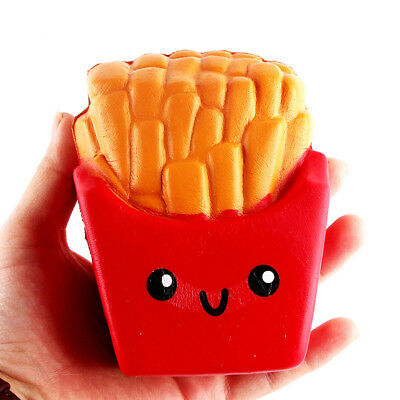 AU17.99 • Buy French Fries Kawaii Squishy Squishes Slow Rising Cake Scented
