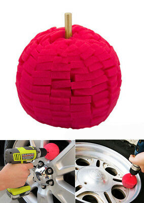 £7.99 • Buy 3  Super Soft Drill Power Ball Polisher Buffing Alloy Wheel Cleaning Detailing