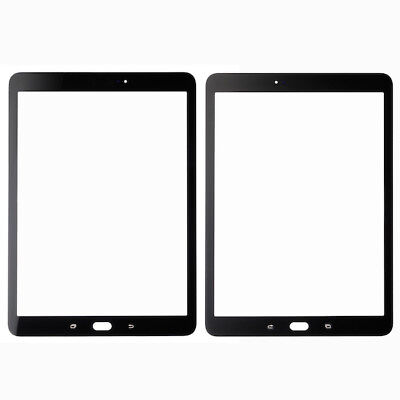 £15.29 • Buy For Samsung Galaxy Tab S2 9.7 Front Outer Glass Screen Lens Black SM T810 T815