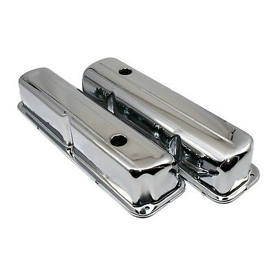 Chrome Plated Valve Covers - 1957-1976 Ford FE Big Block 352 390 406 427 428 • 26.08$