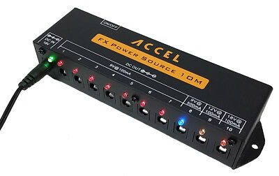 $ CDN90.16 • Buy Accel  FX Power Source 10M  Pedal Board Power Supply For Effects Pedals