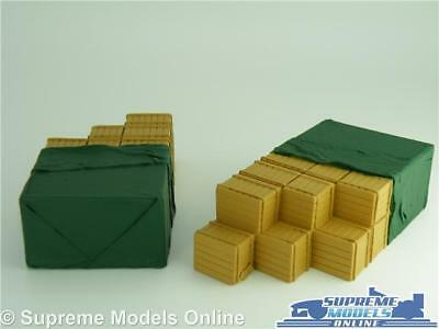 £14.99 • Buy 2 X Sheeted Crate Truck Lorry Loads 1:50 Size For Corgi Classic & Modern Pt T3