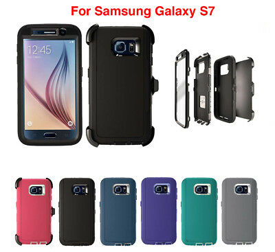 $ CDN7.25 • Buy For Samsung Galaxy S7 Defender Case W/ (Clip Fits Otterbox) & Screen Protector