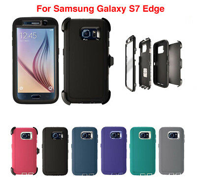 $ CDN11.04 • Buy For Samsung Galaxy S7 Edge Defender Case & (Clip Fits Otterbox) Screen Protector