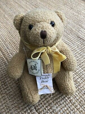 Vintage Collectors Harrods Teddy Bear 100% Authentic • 100£