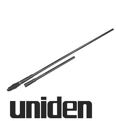 AU268.88 • Buy UNIDEN AT970BK TWIN PACK UHF CB ANTENNA 6.6dBi + 3.0dBi Whip BLACK 6.6DBi 3DBI