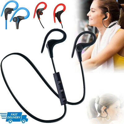 AU9.95 • Buy Wireless Sports Bluetooth Headphones,Stereo Earbuds Noise Cancelling Earphones