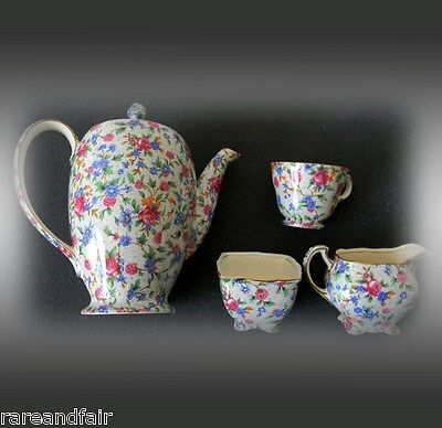 $ CDN587.41 • Buy Royal Winton Grimwades Tea Set - Old Cottage Chintz Design - England