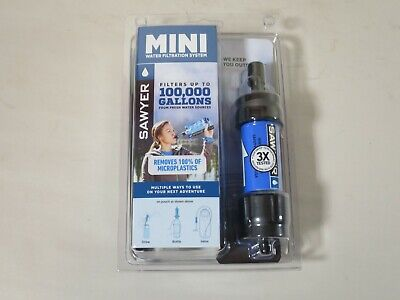 AU48.49 • Buy Sawyer Portable Mini Water Filter Filtration System Pouch SP128