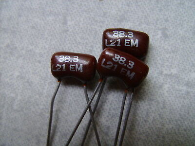 1200pf 300 Volt 5/% Silver Mica Capacitor QTY 10 ea NOS, New Old Stock A13