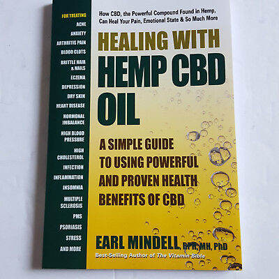 Healing With Hemp CBD Oil A Simple Guide To Using The Powerful Benefits Mindell • 9.62£