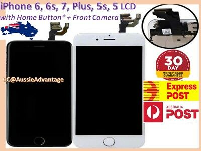 AU26.20 • Buy IPhone 6 Plus 6s 5s Screen Replacement FULL LCD Touch Display + Home Button AUS