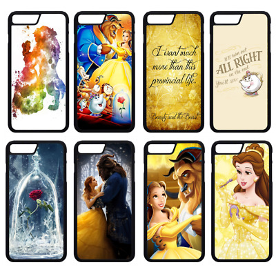 AU9.07 • Buy Disney BEAUTY AND THE BEAST Phone Case Cover IPhone 4s 5s SE 6s 7 8 Plus (S1)