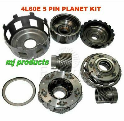 AU590 • Buy 4l60e 5 Pinion  Planetary Gear Set / Full Kit With Bearings / Second Hand