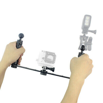 £23.38 • Buy Underwater Camera Support Kit Bracket Mount Video Stabilizer Rig Hand Grip