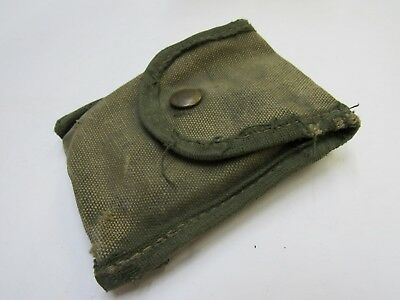 $24.95 • Buy Vietnam Era US M1956 First Aid Compass Pouch Case Canvas Modified Well Used