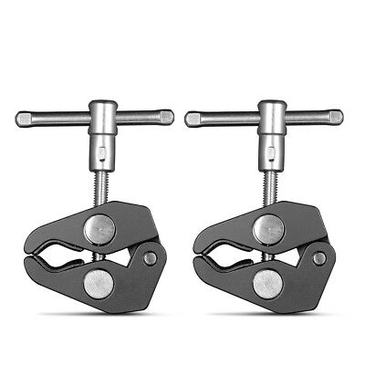 SmallRig 2Pcs Super Clamp Heavy Duty Camera Clamp With 1/4  And 3/8  Thread 2058 • 7.43£