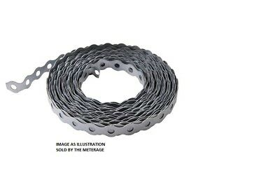 £7.50 • Buy GALVANISED FIXING BAND 17MM CHOICE OF QTY & LENGTH 500mm Up To 10 Metre Option