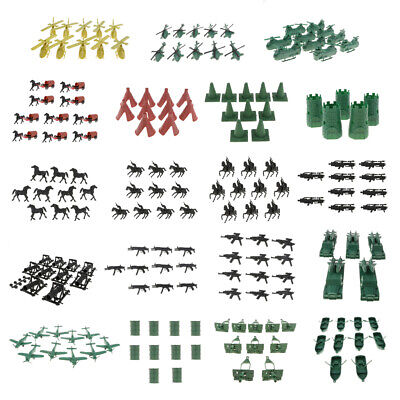 £7.95 • Buy Military War Game Toy Soldiers Army Men Accessories Soil Cannon Monoplane Tent
