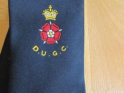Early DUGC Golf Club With Lancashire Red Rose Motif Golfing Tie By James Arnold • 9.99£