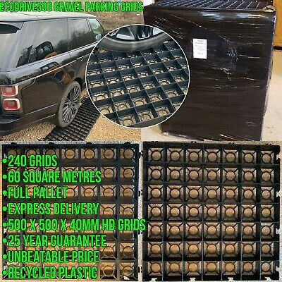 Plastic Gravel Grids Driveway Reinforcement System - Full Pallet Trade Price • 539.99£