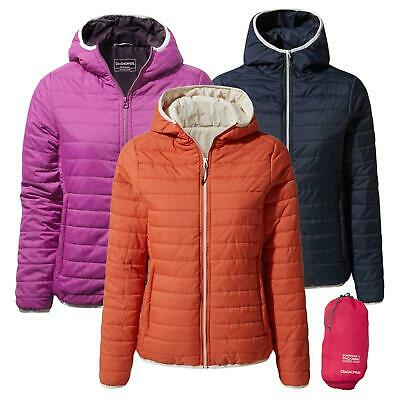 Craghoppers Womens Compresslite III Jacket Hooded Packable Packaway Travel  • 39.99£