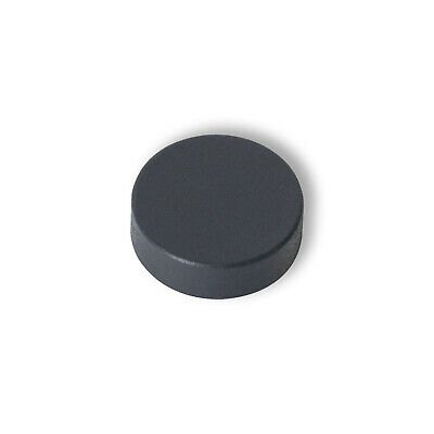 1 X Anthracite Cover Cap For Heated Towel Rail Radiator Blanking Plug Air Vent • 1.99£