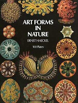 Art Forms In Nature By Ernst Haeckel New Paperback Book • 12.56£