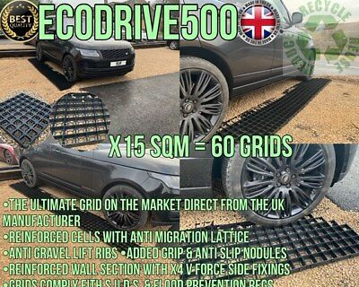 Grid Drive Plastic Eco A Grid Heavy Duty Gravel Reinforce Protector Parking Grid • 149.99£