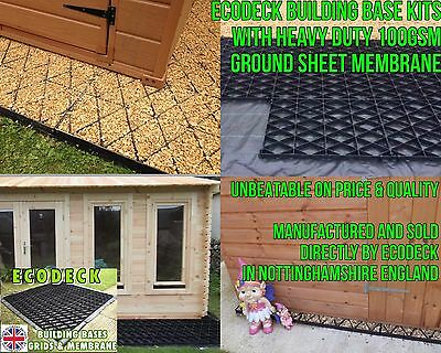 GARDEN SHED BASE FULL KIT OF ANY SIZES 6x4 8x6 10x6 10x8 12x6 GREENHOUSE BASE Em • 1.32£
