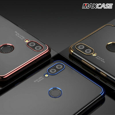 AU6.95 • Buy HUAWEI NOVA 3i & Y5 2018 MAXCASE Ultra Slim Crystal Shinning TPU Gel Case Cover