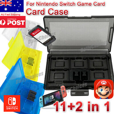 AU6.04 • Buy 12in1 Game Card Case Holder Cartridge Storage For Nintendo Switch AUS