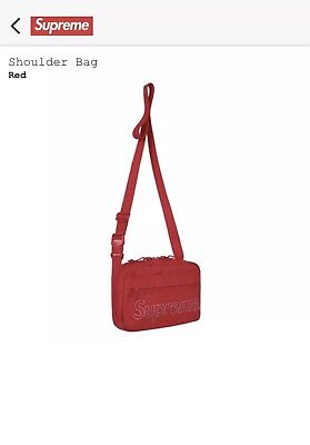 $ CDN226.93 • Buy Supreme FW18 Shoulder Bag Red 100% Authentic And Brand New