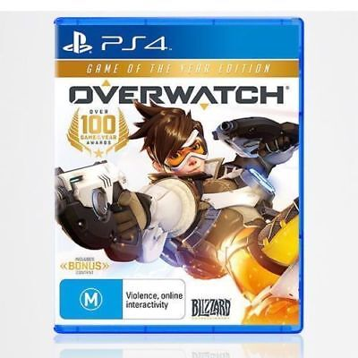 AU49.99 • Buy Overwatch Game Of The Year Edition PS4 Sony Playstation 4 New & Sealed