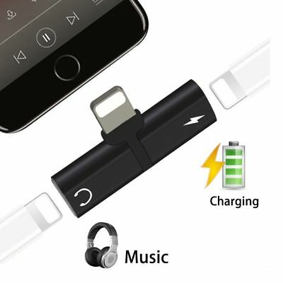 AU5.41 • Buy Dual Headphone Jack Charger Adapter Splitter For IPhone X S 11 MAX 7 8