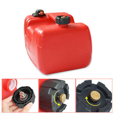 $54.99 • Buy 12L Portable Fuel Tank W/Connector 3.2 Gallon For Yamaha Boat Outboard Machine