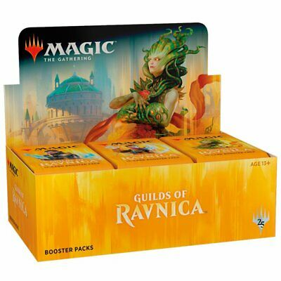 AU150.95 • Buy Magic The Gathering MTG Guilds Of Ravnica Booster Box Trading Card Game