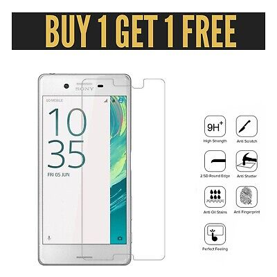 AU4.44 • Buy 100% Genuine Premium Tempered Glass Screen Protector For Sony Xperia XZ