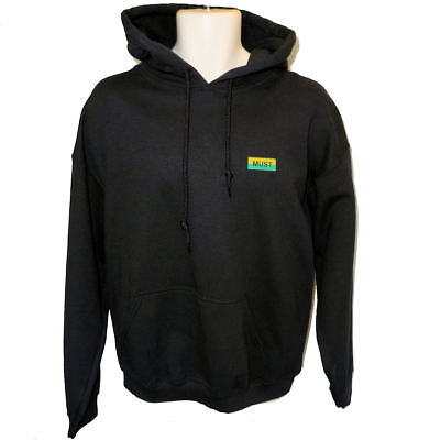 MUST - Manchester United Supporters Trust - Green & Gold Bar Logo Hoodie • 25£