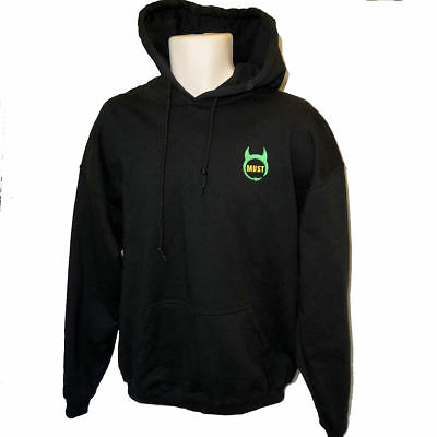 MUST - Manchester United Supporters Trust - Green & Gold Embroidered Logo Hoodie • 30£
