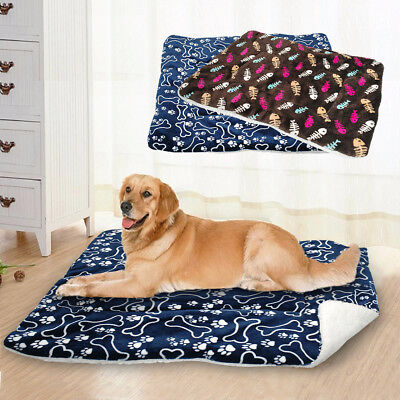 Clearance Large Dog Bed Soft Washable Cushion Mat Mattress Basket For Pets Cat • 18.67£